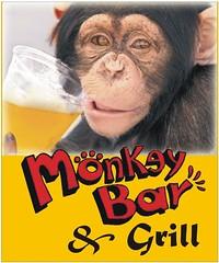 Monkey Bar (Megan Lorenz) Tags: advertising restaurant costarica published chimp monkeybar licensed playaflamingo monkeybargrill mlorenz meganlorenz