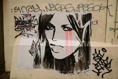Konny (dprezat) Tags: street urban paris art collage painting stencil tag graf peinture aerosol bombe pochoir konny steding sonyalpha700