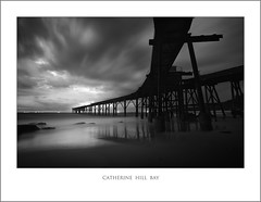 Catherine Hill Bay  B&W (Peter & Olga) Tags: longexposure bw seascape 2011 catherinehillbay d700
