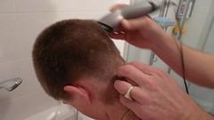 P1000638 (Helene van Loon) Tags: haircut barber kapper militarylook
