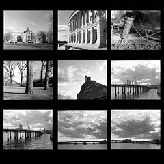 Pentax 6x7, Contact Sheet #2 (Tony DeFilippo) Tags: 120 mediumformat se washingtondc uscapitol dcist mf libraryofcongress southeast anacostiariver fencepost kodaktmax100 pentax6x7 we3dc yardspark