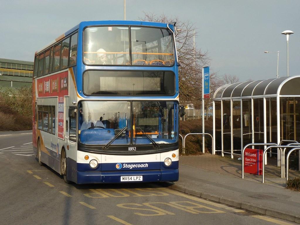 Stagecoach 18192 in Swindon - 31 January 2012 (John Oram) Tags: stagecoach  18192