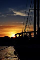 Eivissa (monicajc) Tags: mar barco ombra sombra amanecer ibiza eivissa vaixell