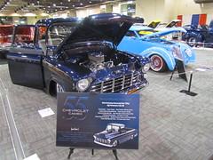 1955 chevrolet Cameo pickup (bballchico) Tags: chevrolet 1955 truck pickup cameo gnrs2012 grandnationalroadstershow2012 randyito photobballchico2012