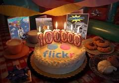 100,000 Views (jrtce1) Tags: party cookies cake photoshop flickr 100000views jrtce1