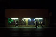 (andrew sea james) Tags: street night landscape nikon lasvegas f14 nevada sigma 30mm d7000