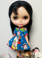j'adore (prettyinthekitchen) Tags: fashion plastic kenner blythe brunette 1972