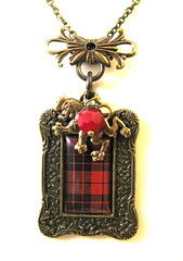 Ancient Romance Series - Scottish Tartans - MacLeod of Raasay (MacLeod Red)