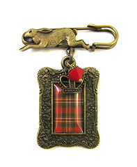 Ancient Romance Series - Scottish Tartans - Scott (Red)