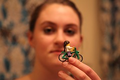 Lego bike and rider