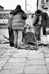 KOKSY (Ireneus Albatross) Tags: blackandwhite blackwhite monochrome bw łódź lodz poland polska pentax samsung gx20 28mmf28 street photojournalism reportaż reportage city people