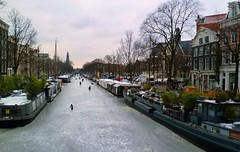 Skating in Amsterdam City (Iam Marjon Bleeker) Tags: wint
