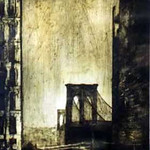 "<b>Brooklyn Bridge</b><br/> John Page (1923-) ""Brooklyn Bridge"" Etching, 1966 LFAC #1997:08:23<a href=""http://farm8.static.flickr.com/7148/6852457049_6b7797b816_o.jpg"" title=""High res"">∝</a>"