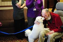 Touching Moments (Amberwood Care Centre) Tags: family friends dog passages hospice il rockford nursinghome seniorliving seniorcare amberwoodcarecentre