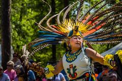 Aztec Dancers 8 (hetrickwesley) Tags: festival georgia dancers unitedstates aztec native indian american albany wildanimalpark regalia powwow chehaw canont4i 18135stm