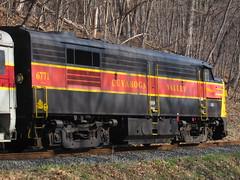CVSR 6771 (Fan-T) Tags: scenic rail southern valley cuyahoga streamline alco mlw 6771 fpa4 cvdsr