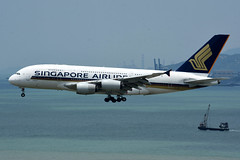 Singapore Airlines 9V-SKK (Howard_Pulling) Tags: camera hongkong photo airport nikon photos may picture 2016 howardpulling d5100