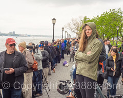 Spectators, America's Cup World Series 2016, New York (jag9889) Tags: nyc newyorkcity people woman usa ny newyork water sport race river boat sailing unitedstates yacht outdoor manhattan unitedstatesofamerica crowd sailors competition esplanade hudsonriver bermuda spectator americascup batteryparkcity lowermanhattan challenger waterway worldseries louisvuitton defender sailingboat 2016 auldmug jag9889 20160507 americascupnewyork2016