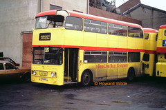 Bee Line 684 (YDS 651S) (SelmerOrSelnec) Tags: bus accident oldham alexander leyland beeline roofdamage atlantean yds651s grahampaisley