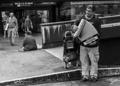 Welcome to the Jungle- Guns N' Roses- 1987 (jcfasero) Tags: street city bw musician blanco movie calle y song sony ngc negro ciudad cine galicia pontevedra cancion vigo rx100 sphotography
