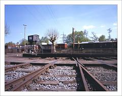 rairoad heritage - part of series - 1 (macfred64) Tags: railroad 120 film mediumformat 645 railway slide chrome transparency 6x45 fujiprovia100f eisenbahnmuseumbochumdahlhausen fujiga645wi fujinon45mmf4 railroadheritage