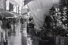 shower (Gemini st.) Tags: street film rain tokyo cosina voigtlander bessa r3a xp2super400 heliarclassic75mmf18