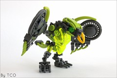 Uxar, Creature of Jungle (...The Chosen One...) Tags: lego bionicle moc uxar