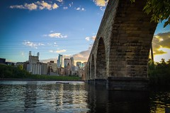 Stone arch bridge, Minneapolis MN #bridge #river #mississippi #landscape #city #minneapolis #twincities #minnesota #iphone6 #lightroommobile (namouze) Tags: city bridge minnesota river mississippi landscape minneapolis twincities iphone6 lightroommobile
