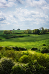 Howardian Hills (aveyardphotography) Tags: trees light sky green castle clouds landscape daylight view howard telephone yorkshire hill farming north tracks sunny farmland pole hills fields lush hedgerow howardian