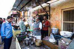 Straining the Chai 4977 (Ursula in Aus - Away) Tags: india jaisalmer chaiwallah chai