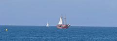 Pirates (Leifskandsen) Tags: ocean camera travel sea water living boat warm pirates atlantic rico porto sail leifskandsen skandsenimages