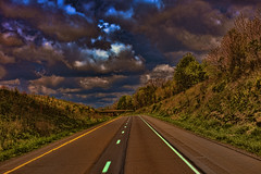 Follow My Lead (raymondclarkeimages) Tags: road trip travel sky usa lines clouds canon wow drive artistic outdoor creative daytime intensity 6d rci leadinglines imageof picof raymondclarkeimages 8one8studios 50mm18stm