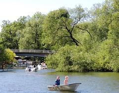A hidden paradise (bokage) Tags: bridge water boat sweden stockholm bokage