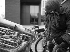 Where are my keys? (Elements That Surprise) Tags: blackandwhite street streetstyle bw raw urban colourless punk london summer creepy monochrome monochromatic madmax 20mm lumix panasonic surreal