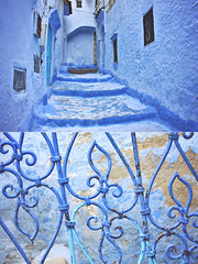 The medina in blue (cgines) Tags: africa morocco chefchaouen