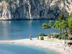 Taormina - The beautiful beach of Isola Bella (Luigi Strano) Tags: sea italy beach coast europa europe italia mare beaches sicily coastline taormina sicilia spiagge