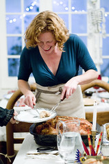 "Liz serving the turducken • <a style=""font-size:0.8em;"" href=""https://www.flickr.com/photos/7515640@N06/6400189179/"" target=""_blank"">View on Flickr</a>"