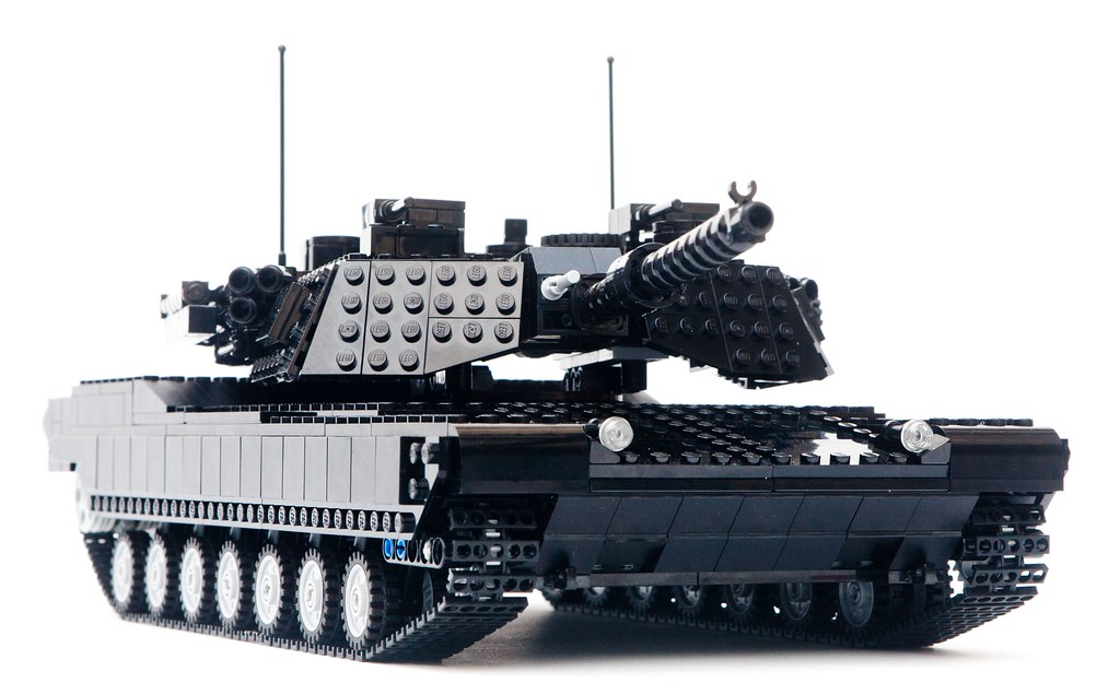 d8687a30c537 Black Abrams Tank -Coming Soon- (zackhariah) Tags  white black army cool · LDD  M1A2 Abrams - Motorized (zackhariah) Tags  ir tank lego ...