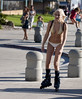 Blonde rollerblading girl (San Diego Shooter) Tags: portrait girl sandiego streetphotography rollerblading pacificbeach rollerblader blondegirl sandiegopeople sandiegostreetphotography rollerbladinggirl