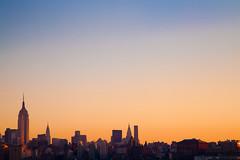 Good Morning, Manhattan (chris lazzery) Tags: newyorkcity newyork sunrise manhattan empirestatebuilding chrysler canonef24105mmf4l 5dmarkii bw30nd
