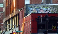 Fugue (walknboston) Tags: hot boston ma graffiti tag spraypaint fugue