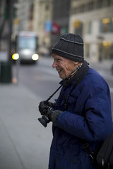Bill Cunningham (photographer) (j2martinez) Tags: nyc newyorkcity people ny newyork apple digital portraits photography bill mac raw imac photographer candid tint 7d cunningham nytimes dslr josemartinez cr2 billcunningham cs5 jmartinez canoneos7d newyorktimesphotographer cameraraw63 acr63