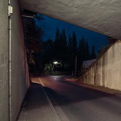 2011 / II (jpk.) Tags: 2011 canoneos7d kamera mai monate ©janphilipkopka unterführung brücke nachts abends dunkel tokina41224mm herne gleisanlagen asphalt bunt