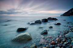 December Baltic (Dietrich Bojko Photographie) Tags: seascape nature germany landscape deutschland coast nationalpark europe long exposure balticsea ruegen jasmund dietrichbojko islandofrgen