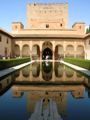 Patio de los arrayanes, La Alhambra, Granada, Spain (Emanuele_Crocco) Tags: travel travelling spain andalucia alhambra granada andalusia viaggi spagna laalhambra viaggiare patiodelosarrayanes alahmbra eyesoftravellers