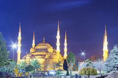 Mezquita Azul / Blue Mosque (german_long) Tags: longexposure turkey nightshot mosque mezquita 1001nights istambul estambul turquía 2011