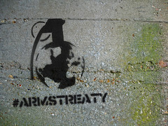 #armstreaty (allispossible.org.uk) Tags: world black concrete grey dangerous globe stencil pin peace grafitti grafiti international weapon graffitti amnesty grenade trade campaign weapons oxfam stunt handgrenade handgranate granate controlarms controlarmsorg armstreaty bomsey