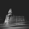 Traffic... (Alejandro Mirsha.) Tags: longexposure blackandwhite bw berlin germany landscape photography europe streetlights sony squareformat kaiserwilhelmgedächtniskirche sonydscw90 amchphotography