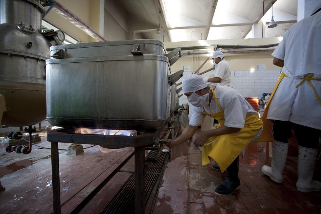 Fabrique confiture CEPICAFE - Bacs de sterilisation