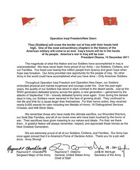 End of combat operations in Iraq (The U.S. Army) Tags: army iraq letter chandler closure drawdown chiefofstaff operationiraqifreedom odierno comlete endofmission operationnewdawn secretaryofarmy